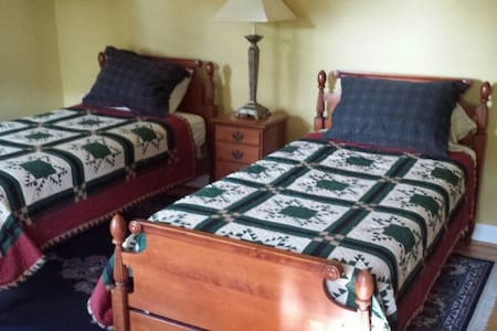 Superhost - Twin beds 6min to  I-95 - House