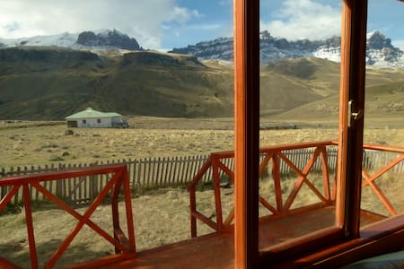 Estancia 3R - Patagonia Chilena  - Faház