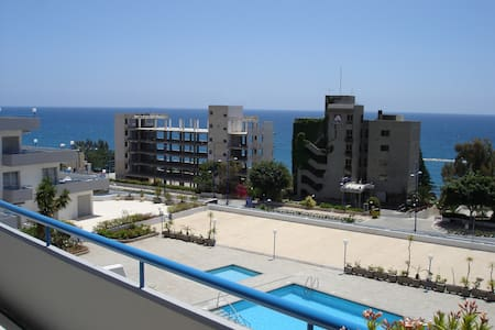 Stylish 1 bedroom SeaView apartment - Agios Tychon