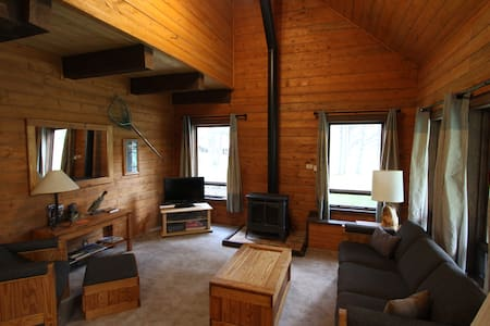 Rocky Top Log Cabin Open Year Round - Lake City - Cabane