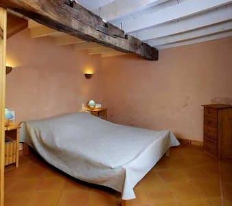 Chambre duplex avec s. bain privée - Montverdun - Bed & Breakfast