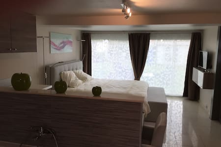 Gastenkamer/studio met privé sauna - Borgloon - Bed & Breakfast