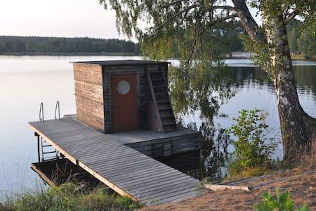 Houseboat in Borsöknasjön - Bot