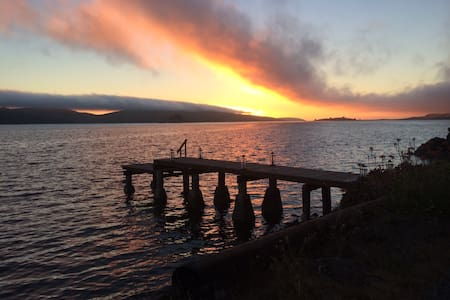 Two homes  Tomales Bay- Xmas open !