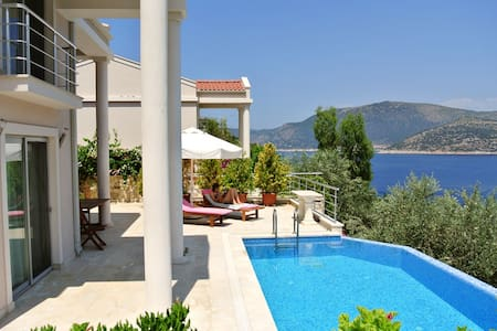 Seafront villa with infinity pool - Villa