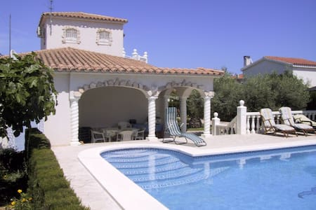 Gorgeous villa by the sea with pool - Cap Roig - Casa