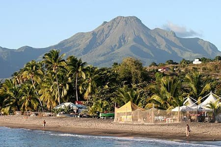 Petit Trésor Martinique -Le Cabanon - Le Carbet - Domek parterowy