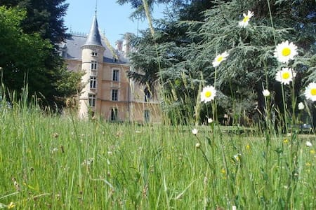 Chateau in countryside -22 beds - Les Halles, Rhône - Slott