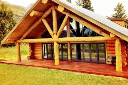 Glenorchy Log Home-Mountain Luxury - Talo