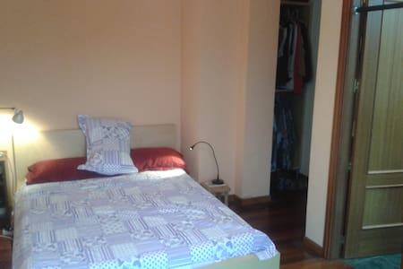 habitación doble con baño privado - Apartment