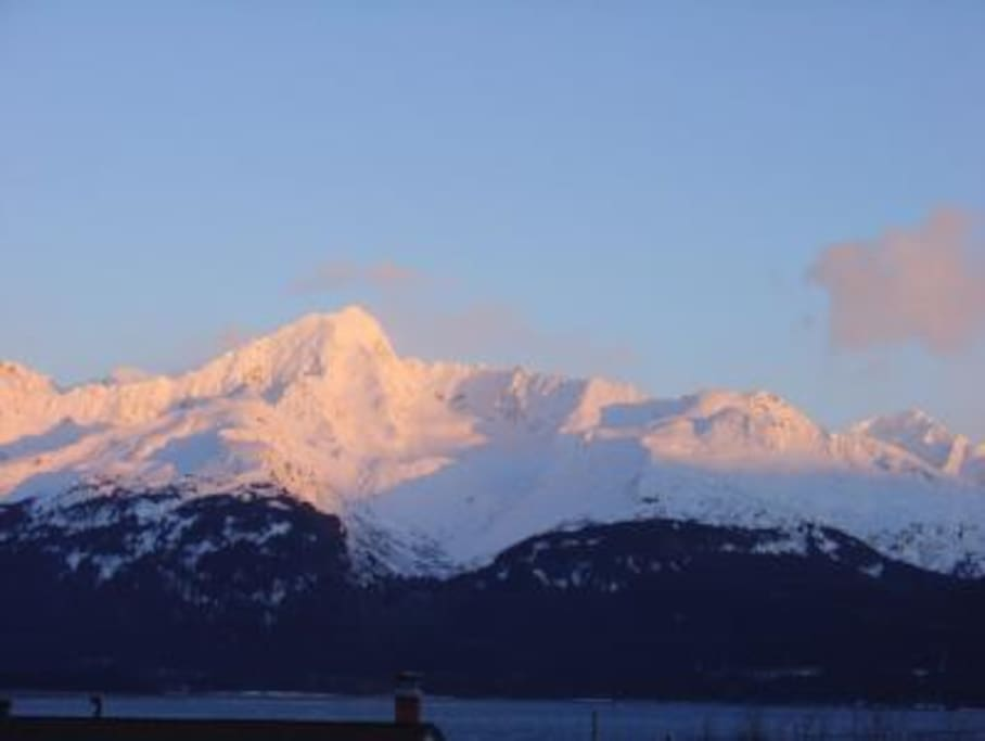 View of Mount Alice from Arctic Paradise.