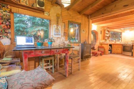 Habitación en Casita de madera y adobe. c/desayuno - San Carlos de Bariloche
