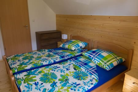 Sobe v Gozdu 3 (Rooms in the Forest) - Twin Bed - Gozd Martuljek - House