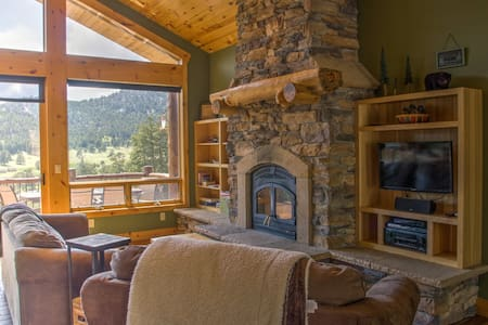 Mountain Vistas Retreat - Estes Park - Casa