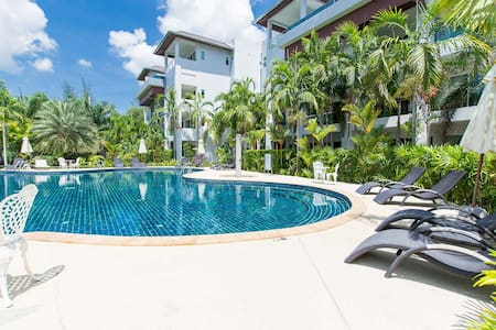 Spacious apartment in 10 min from BangTao beach - Choeng Thale - Lägenhet
