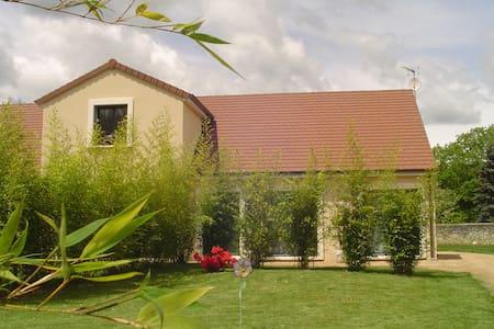 1 jolie chambre dans maison neuve et jardin clos - Other