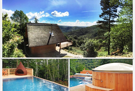 Beautiful cottage Pool Jacuzzi - Talo
