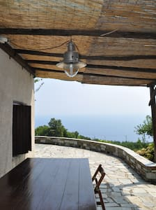 THE MOST PERFECT VIEW AT AEGEAN SEA - House