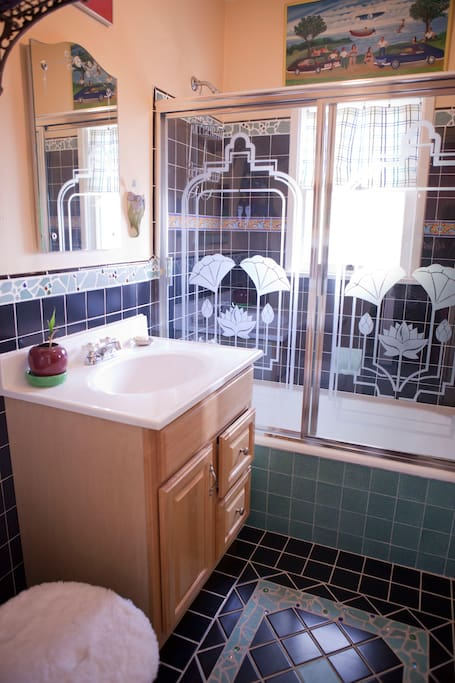 This is your shared bathroom.