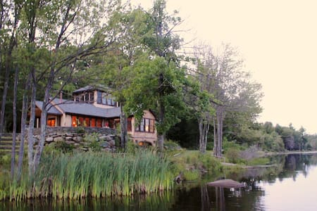 SPECTACULAR HOME PRIVATE LAKE 5 ppl - Ház