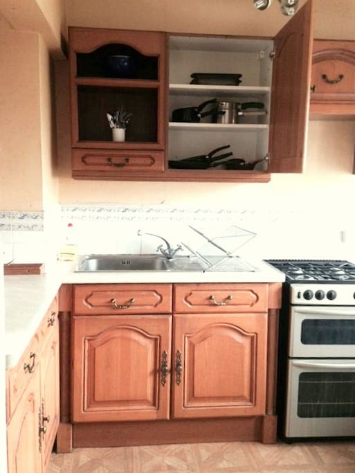 You have access to a fully equipped kitchen