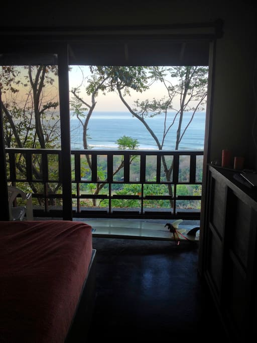 Check the surf conditions from your own private balcony!