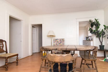 The best deal in Los Angeles! Your own private room, with locking door, in a hostel type setting. Two blocks from the main subway station. Ask us how to get a free ride from LAX to our place. We rent cars cheap too!