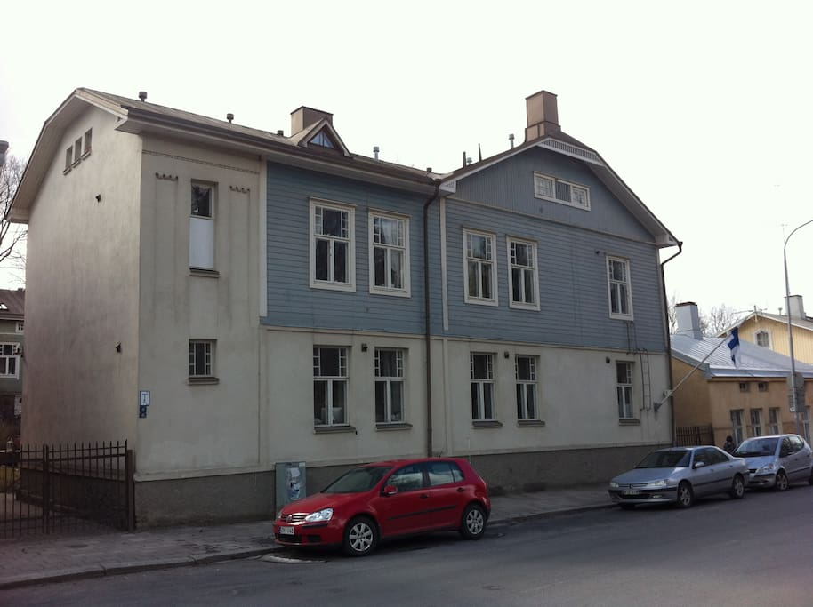 Street view of the entire building