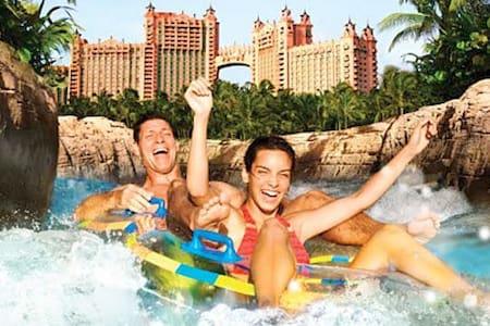 Piece of Paradise awaits  you at Atlantis Bahamas - Villa