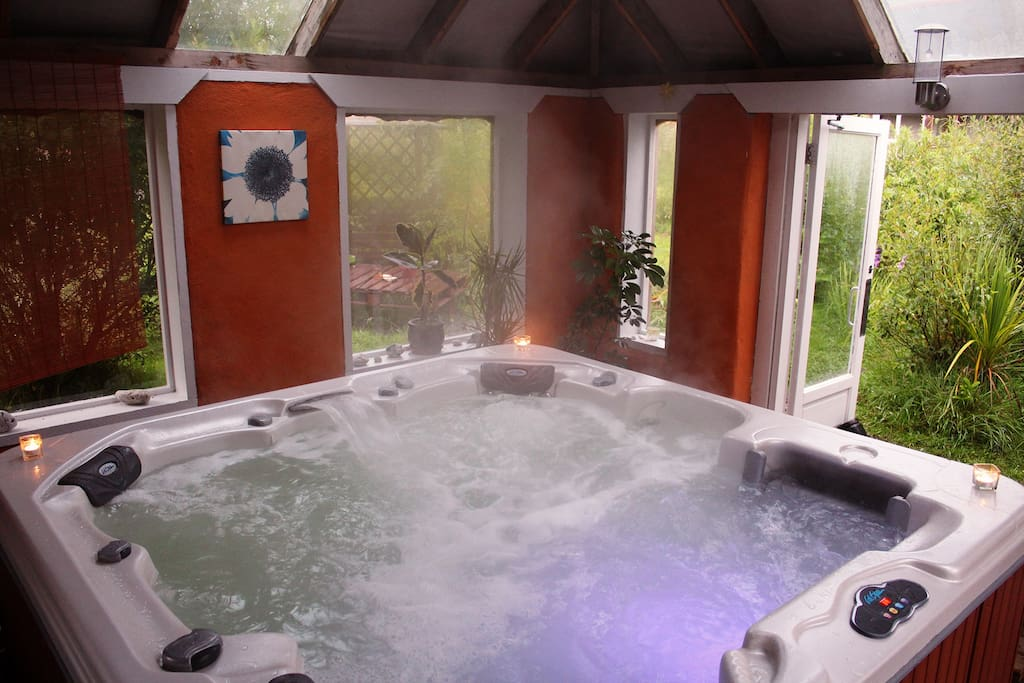 Our Relaxing Hot Tub