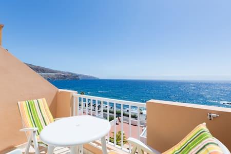 1st sealine, pool, parking, terrace - caletillas/candelaria - Wohnung