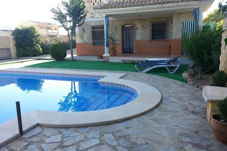 Chalet con  piscina, Málaga, Andalucía,(VTAR) - Cuevas de San Marcos - Lomamökki