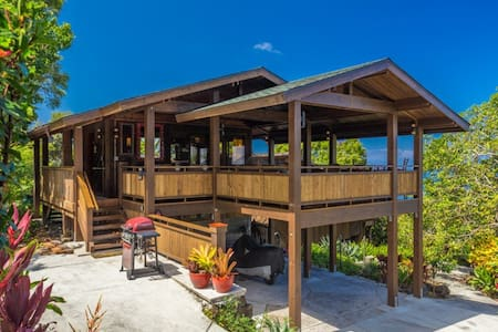 Unique View Cottage, Garden Setting, Holualoa - Kailua-Kona - Chatka