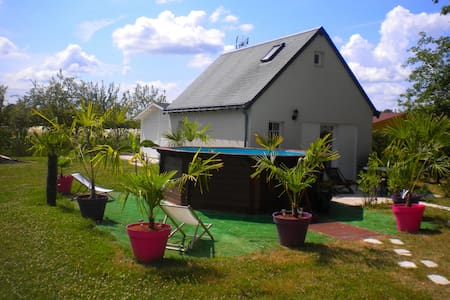 Villa Paradis - Maison indépendante - Saint-Michel-sur-Loire - Inap sarapan