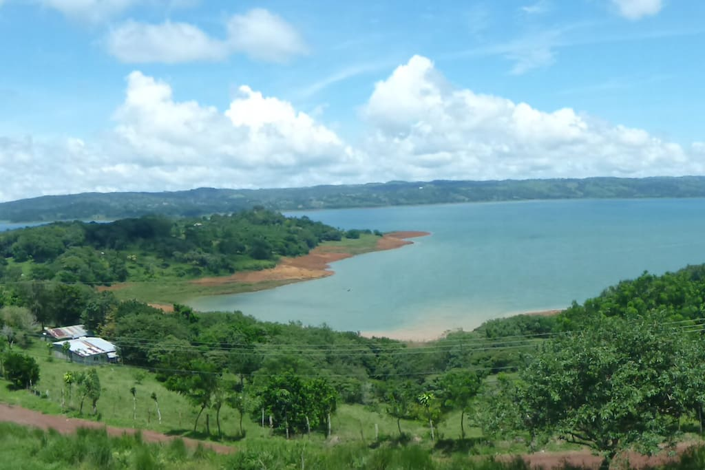 The view at lake Arenal