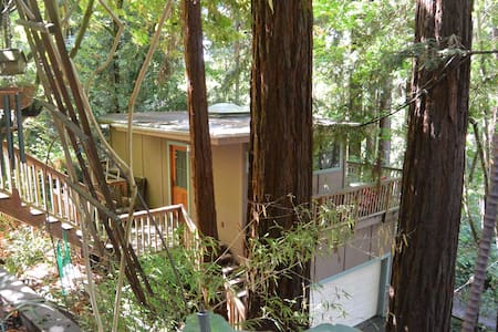 "Redwood ""Tree House"" Studio in Aptos - Aptos - Apartment"