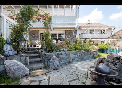 Luxus Whg Flügel, Terrasse, Garten - Apartament