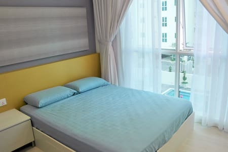 New&clean space, pool&sea view with gym&pool - George Town - Apartment