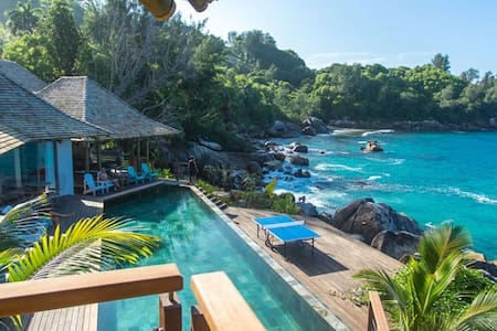 Exclusive villa on the Sea - Seychelles - Casa