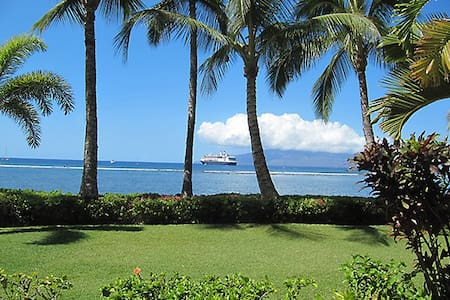 """Lahaina Shores Getaway"" OCEAN VIEW - Leilighet"