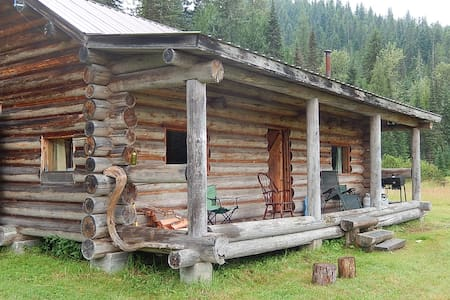Meadow View Log Cabin - Priest Lake - Kabin
