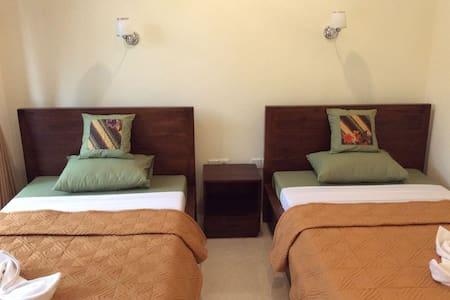 Bella House 4 - Twin beds AC + Fan - Ubud - Bed & Breakfast