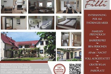 Ferienwohnung Filli - Unterwellenborn - Appartement