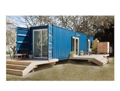 Modern Beach Container Home #1 - Ev