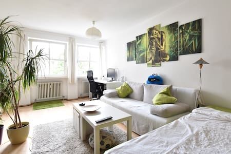 Cozy & bright apartment, 10 mins into city center - Munic