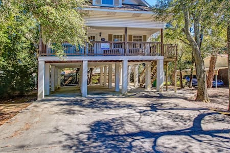 Jones Beachhouse - Tybee Island - Casa