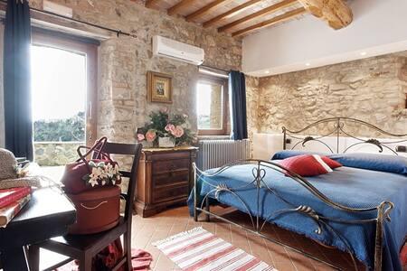 Agriturismo Vald'Orcia -Quirico Apt - Castiglione - Appartamento
