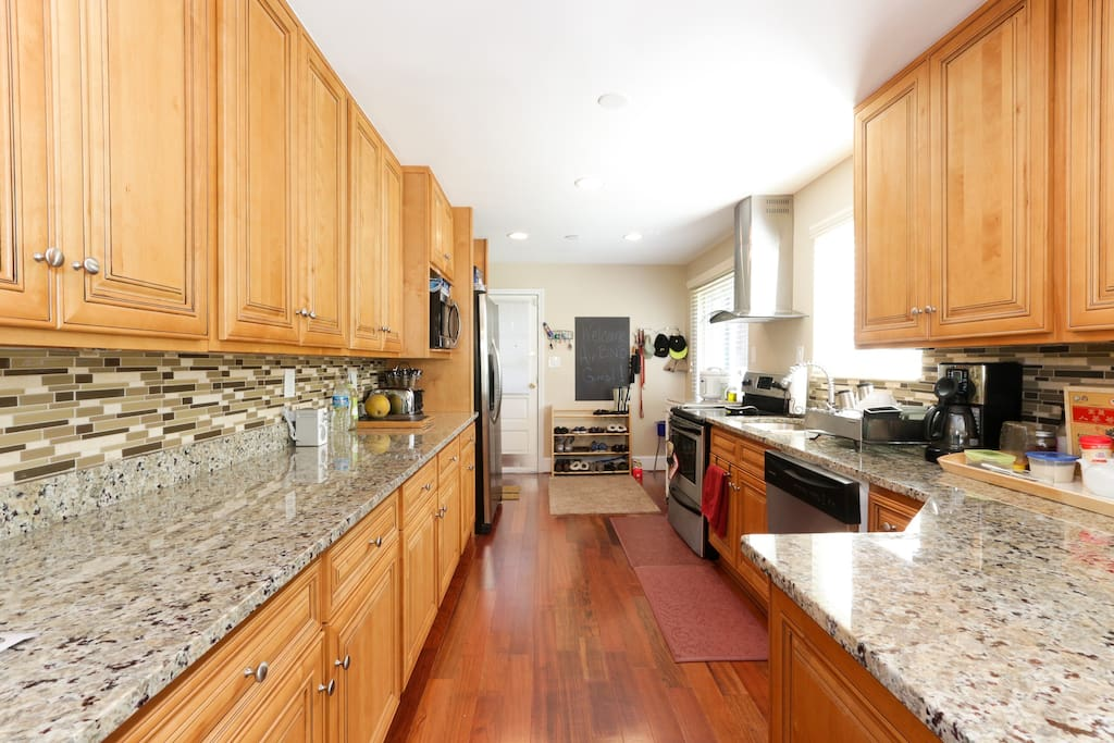 Shared fully equipped kitchen