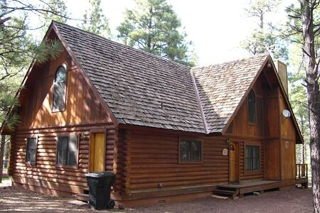 Log Cabin on National Forest - Pinetop - House