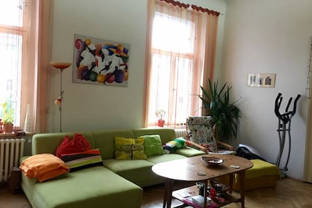 Private room with balcony in city center - Apartment
